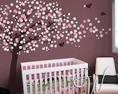Cherry Blossom Tree Wall Decal - Nursery Wall Décor