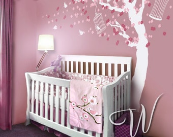 Cherry Blossom Tree  - Nursery Wall Decal