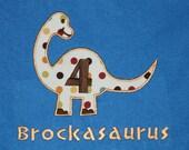 Reserved  Infant, Toddler and Boys Birthday Dinosaur T-Shirt
