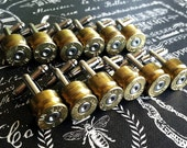 Bullet cufflinks 308 Win 12 pair Wedding cufflinks Winchester silver tone backings deer hunting rifle gun groomsmen wedding cuff links men