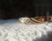 Wedding Ring w/ diamonds