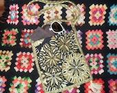 Vintage Carpet Bag Tote Purse
