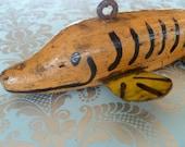 Antique Ice Lure - Vintage Fish Decoy