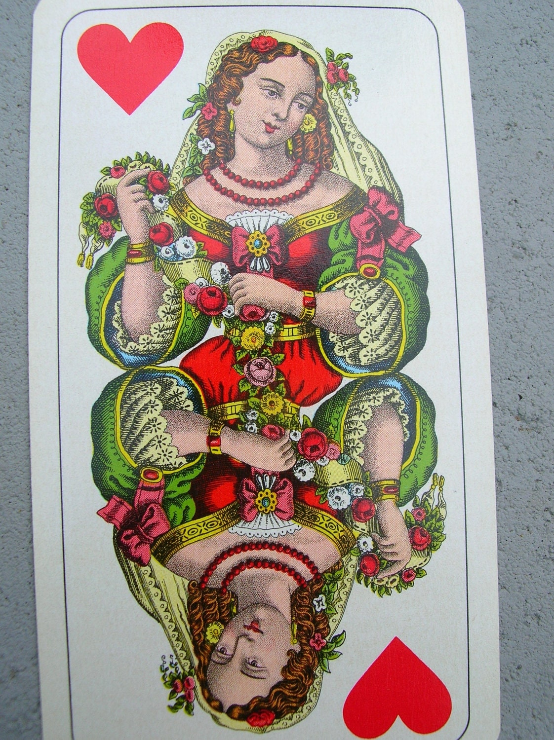 Antique Tarot Card The Fool: Vintage Austrian Tarot Cards Complete Setbeautiful Art Work