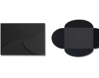 Pochette Envelopes (5 x 7) - Midnight Black (10 Qty.)
