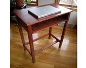 Standup desk wooden hand made