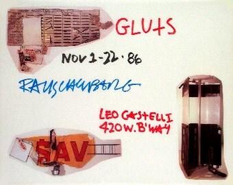 Robert Rauschenberg - Gluts (1986) SKU: AW1637