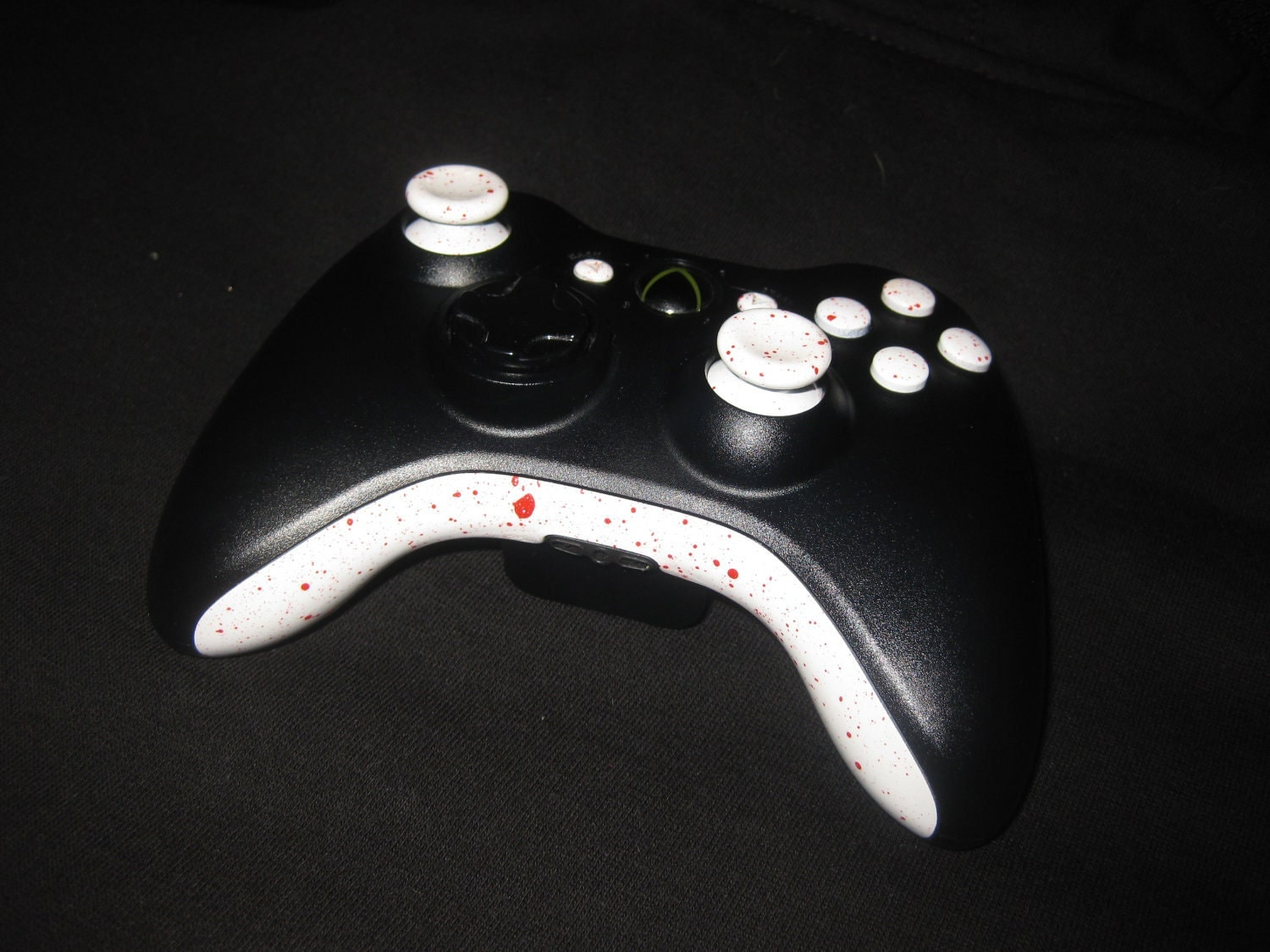 Items similar to Custom painted Xbox 360 controller send ...