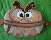 Owl Zippered Coin Purse