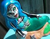 Dia de la Sirena Ceramic Figure