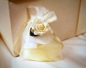 10 Wedding Favors Chiffon Organdy Bags for Candy, Petals, Bird Seed