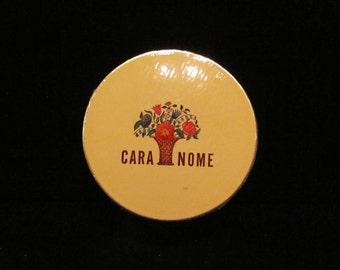 1930s Powder Box Cara Nome Powder Box Sealed and Unused  Mint Condition