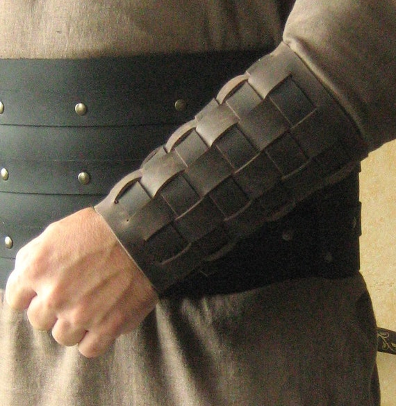 Medieval Armor Celtic Viking Barbarian Bracers
