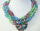 Calla Colors necklace with detachable Callas pin.