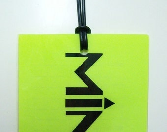 BAGFLAGS luggage marker tags, MINE