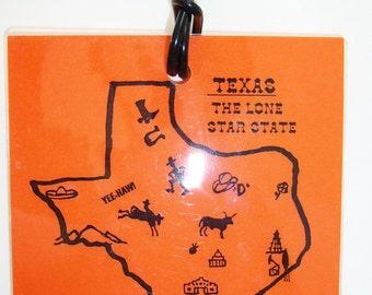 BAGFLAGS Texas luggage tags