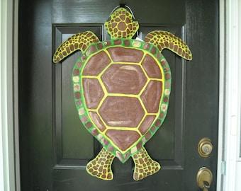 Bulap Loggerhead, Sea Turtle, Door Hanger
