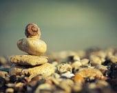 Original Photography Print, Sea Stones Pebbles, Sea Rock Composition Art Print, Zen, 8x10 8x12 10x15 11x14 16x20 16x24 20x24 20x30 Any Size