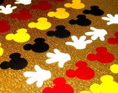 Mickey Mouse Confetti 50 pack - 2 Shapes 4 Colors