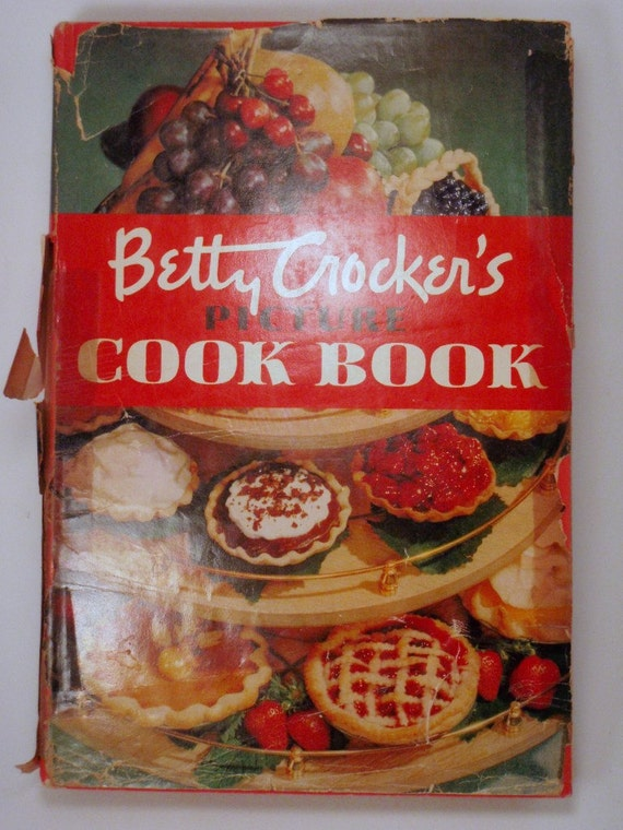 First Edition First printing Betty Crocker's Picture Cook Book 1950 General Mills