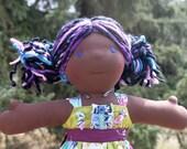 """Sale- Violet 16 1/2"""" KCB Doll"""