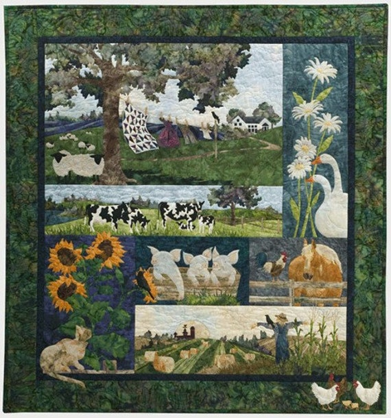 Mckenna Ryan Storybook Farm Complete Quilt Kit Includes All