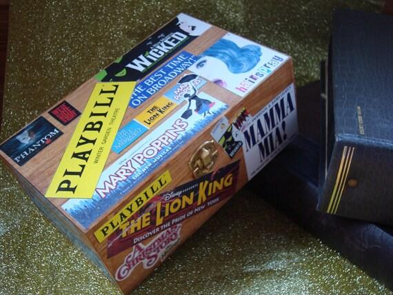 Broadway Playbill Box