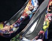 Marvel Avengers Custom Heels
