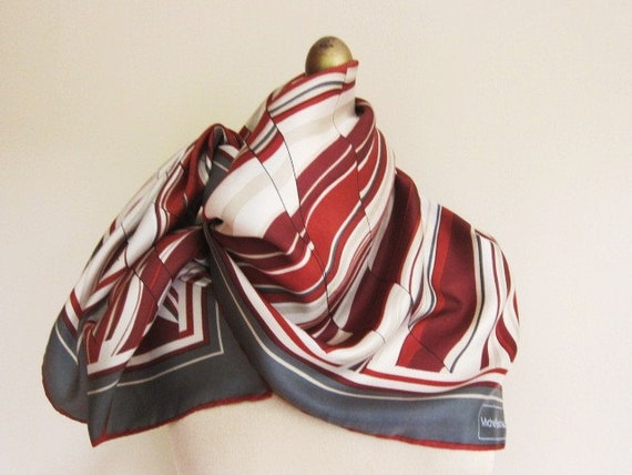 RESERVED for ESL Michel Robichaud silk scarf elegant and sophisticated