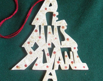 Pennsylvania ornament, tree shaped