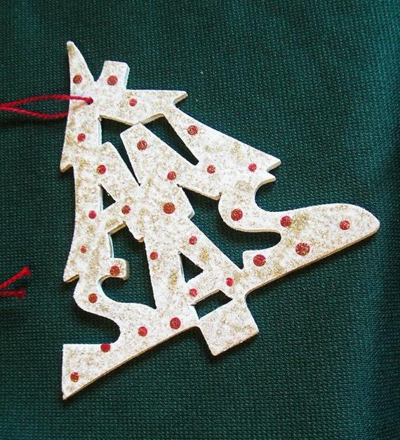 Kansas ornament, tree shaped
