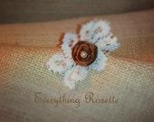 fabric rosette clip