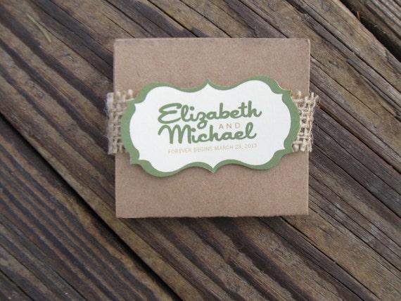 CUSTOM LISTING for ndaubeneck - Elizabeth Green Brown Accordion Unique Wedding Programs Rustic Woodland Shabby Chic