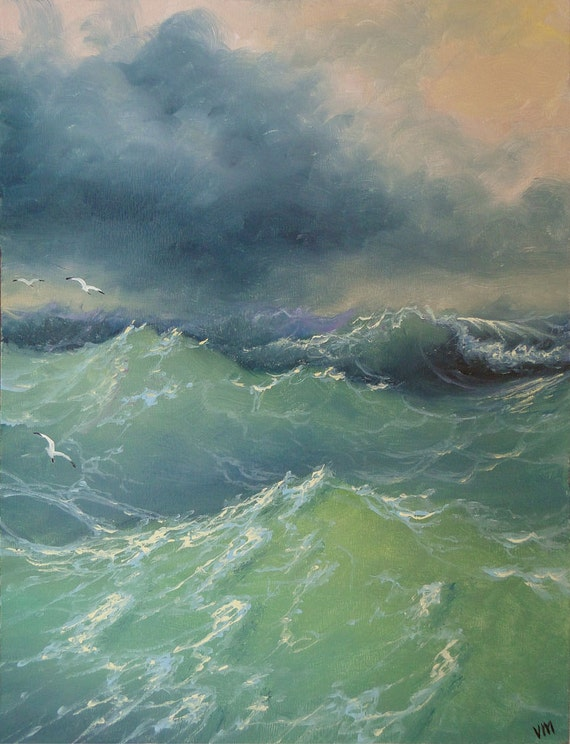 """199 - """"In the Storm""""  8""""x 10""""  original giclee print"""