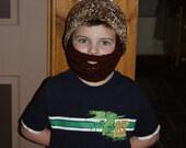 Bearded Beanie with detachable beard