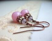 Sweet Pink Earrings