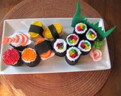 Pretend Felt Food- Sushi Platter