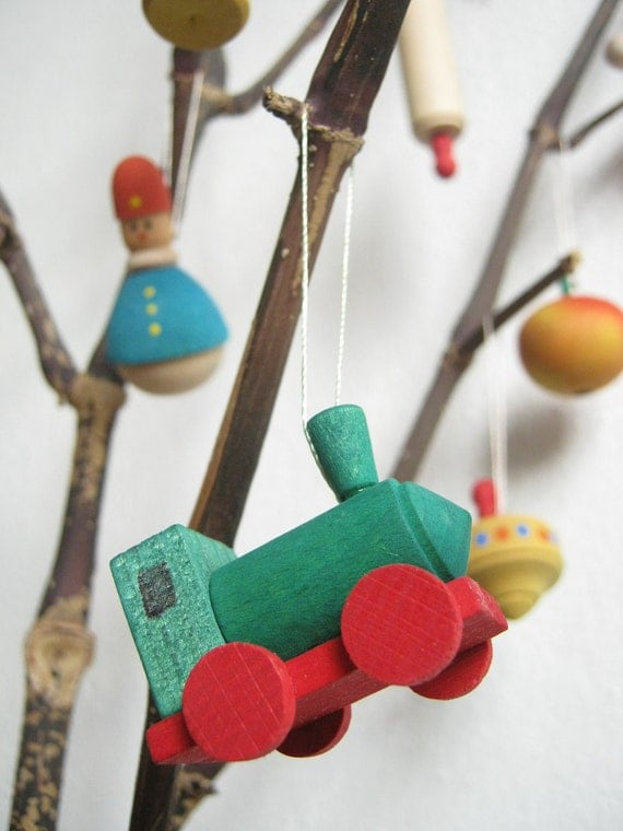 Vintage Topiary Tree Ornaments