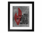 "Song Lyric Digital Printable - Instant Download: ""We Are Young"" by Fun"