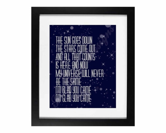 """The Wanted """"Glad You Came"""" 