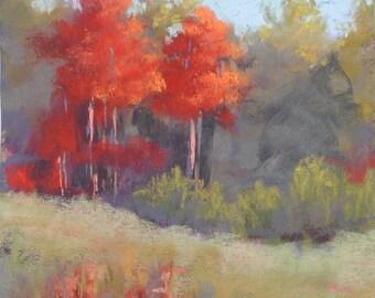 Changing Colors Pastel Landscape