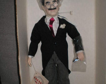 Groucho Marx Doll  The Fift of Effanbee's Legend Series 1983