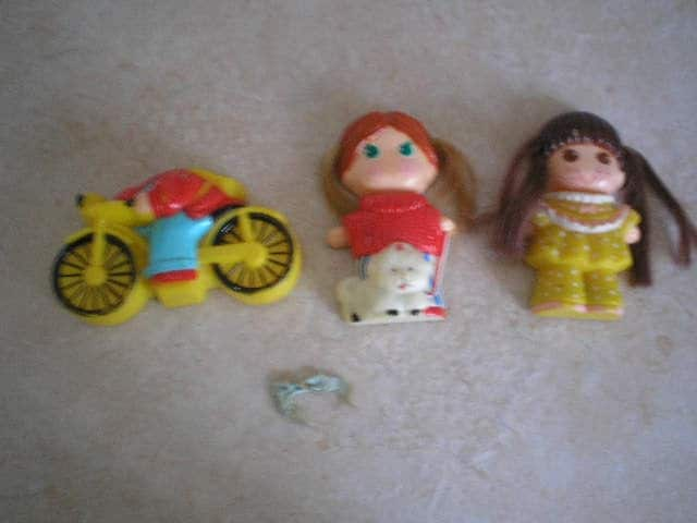 1979 Dolly Pop K T C Dolls With Snap On Outfits And One