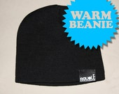 Beanie Hat Black by REVOLT