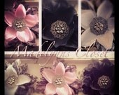 Three ready to wear gorgeous vintage flowers at an amazing price