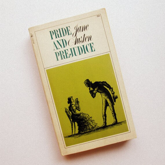 Vintage Pride and Prejudice Book - Jane Austen