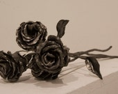 Hand Forged Steel Rose