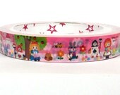 Kawaii scrapbook deco tape (25m), Fairy Tales (DTLA01201)