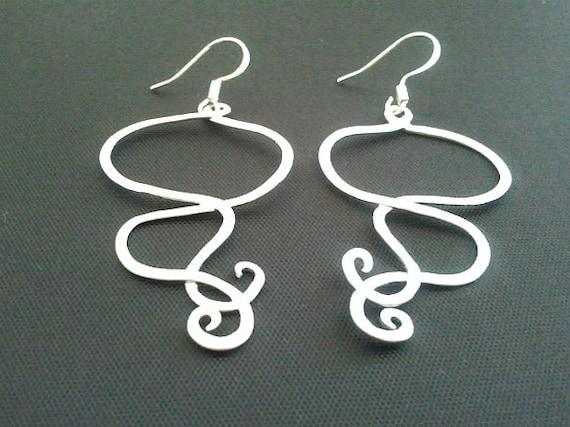 Haze Motif Drop Earrings, Dangle earrings, wedding Earrings,christmas gift, cocktail jewelry
