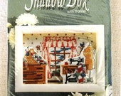 Design for the Needle Sewing Nook 7506 SHADOW BOX XS Kit with Frame Cross stitch